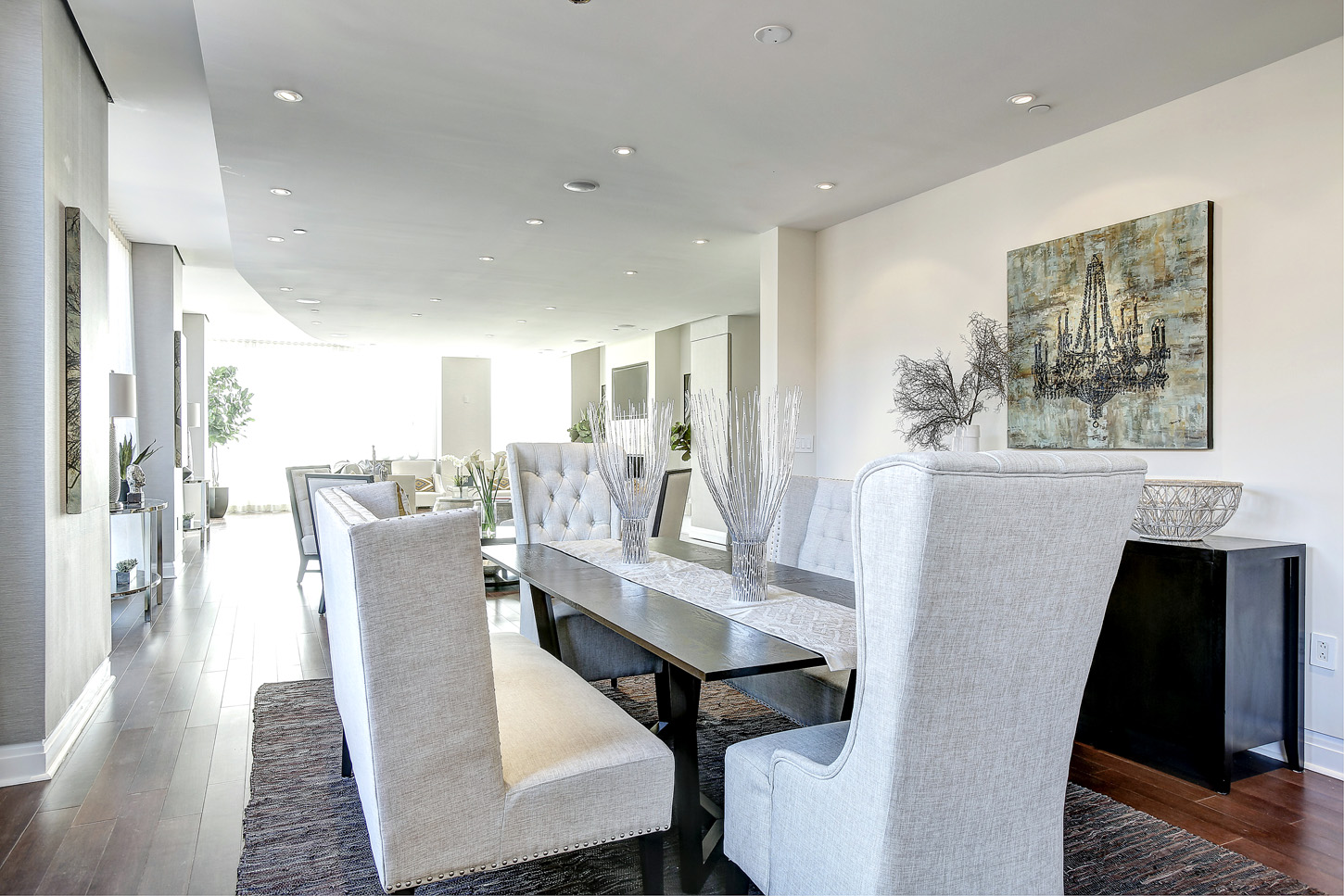 Reveal Secrets Dining Room Table With Banquette Seating 48
