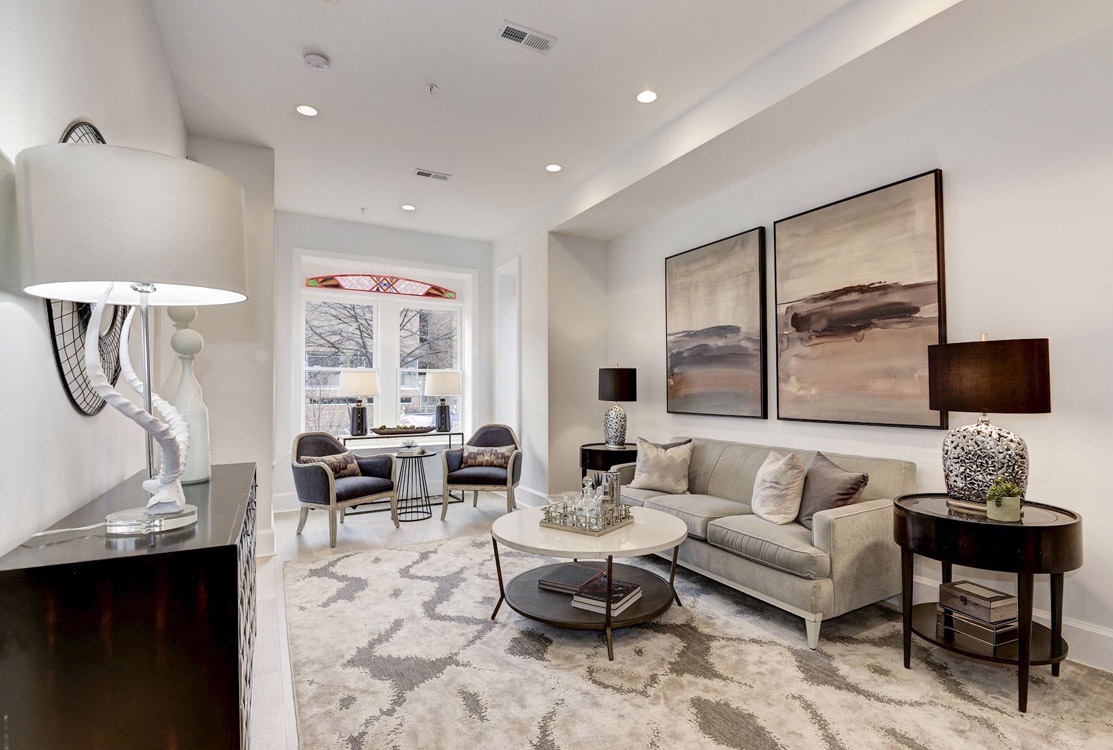Curated Home Staging Gallery in Washington DC