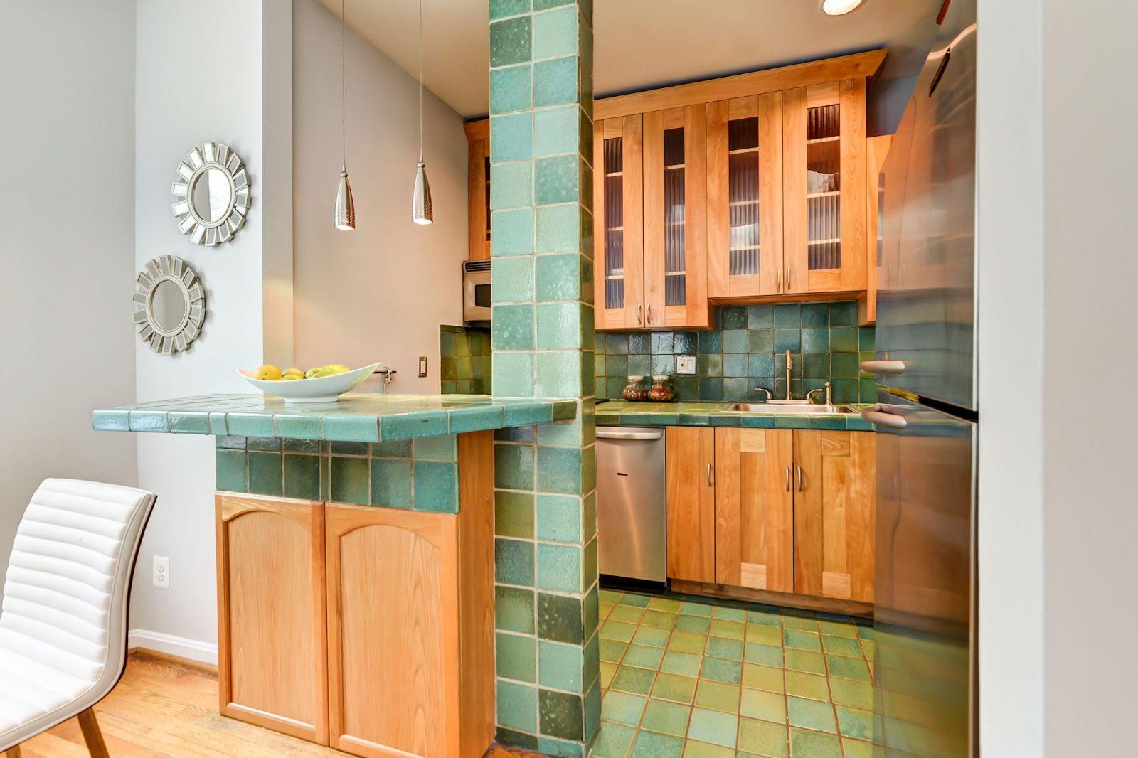 Kitchen -- 1317 Rhode Island Ave NW #206