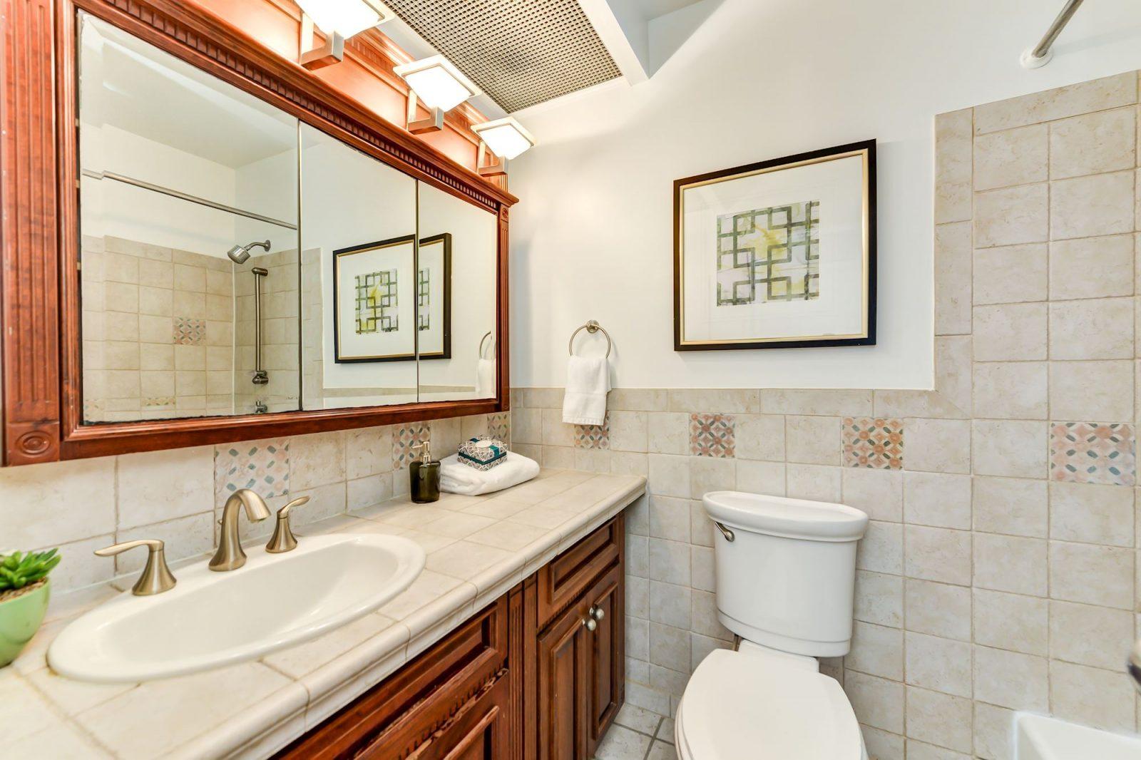 Bathroom -- 1317 Rhode Island Ave NW #206
