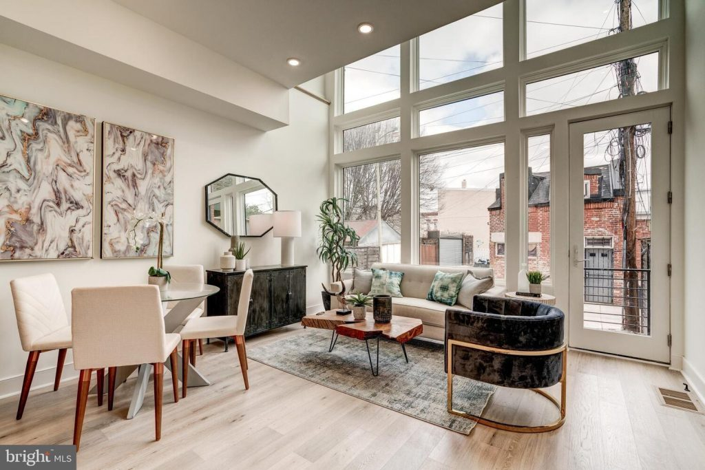 curated staging package for interior design